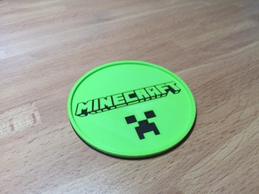 Minecraft Coaster - For Large Cups/Mugs