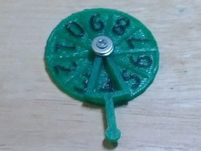 Rotary Counter for Tabletop Gaming