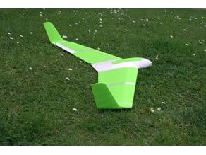 Proteus - an OpenSCAD slope soarer design