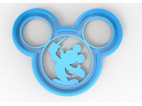 Mickey conductor cookie cutter