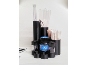 Airbrush Accessories Organizer