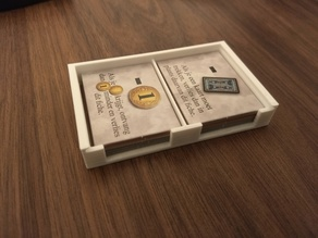 Dominion Adventures Token Box (Rectangular tokens) with sliding cover