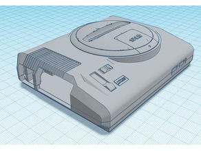 Sega Megadrive / Genesis Pi 2/3 Case