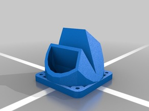 Fan Shroud and Fan Holder for Fusion Reach 3D Printer