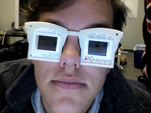 Photographic Slide Glasses