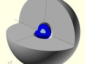 Trinity Device Plutonium Core