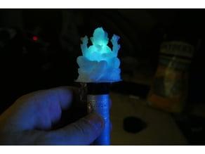 Little Illuminated Ganesha + Battery Holder