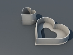 Spitzbuben Ausstecher, Cookie Cutter Heart