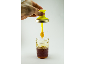 Honey Dipper with Lid