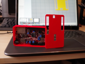 Project Box for Digilent WF32 - Multiple Lid Designs