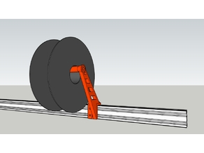 Prusa Spool For V-Slot 20x40