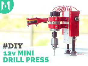 Small Drill Press with switch