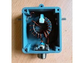 EFHW antenna  box