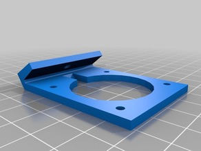 Robo3D Parts Fan holder replacement for E3D hotend