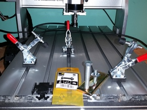 Quick Clip mount for CNC router table