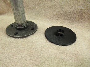 Floor protector for Pipe Flanges
