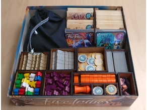 Five Tribes Organizer, Laser Cut