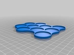 Movement tray 10 x 32mm