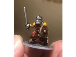 28mm - Orc / Goblin / Hobgoblin Miniature