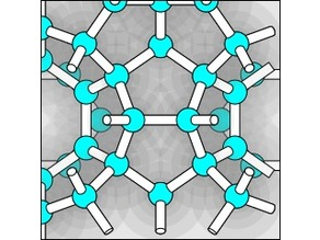 Clathrate Hydrate structure type I