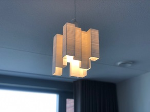 Abstract Lamp, Hanging light