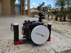 Dive Camera tray