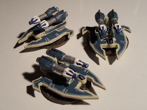 Epic Scale Eldar Night Spinner Proxy