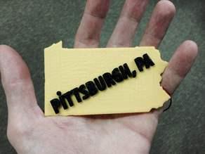 Pittsburgh, Pennsylvania badge