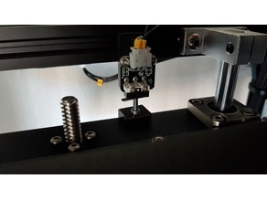 Mod for Creality Ender 5 - Fine adjustment of the Z axis endstop