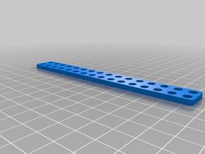 My Customized MakeBlock Parametric Straight Bracket