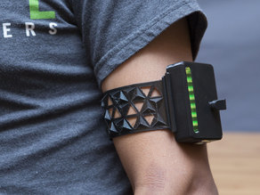 Wearable MiniPOV4 Armband