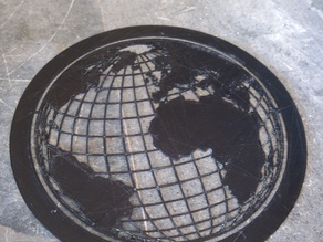 Globe Stencil
