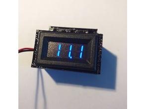 Vu meter lcd led box