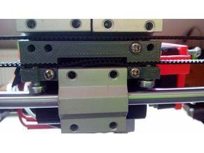 belt holder axis X