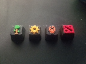 Video game MX keycaps