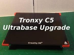 Tronxy C5 Ultrabase bed upgrade