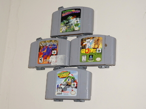 Nintendo 64 Video Game Hangers N64 UPDATED 2015-09-05