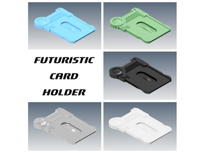Futuristic Card Holder