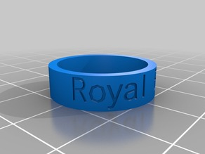 My Customized Ring- RBlue