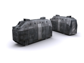 Improvised tank - WAR IN CROATIA