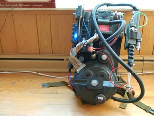 Ghostbusters Proton Pack Prop Parts