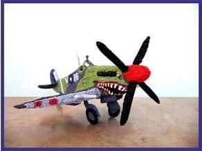 3d pen: Spitfire MK VIII