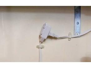 Wire Wall Mount / Holder / Clip