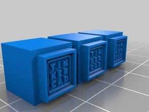 Tinkercad Building Blocks