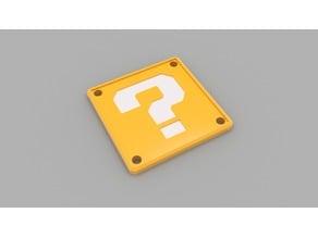 Mario Mystery Box Coaster