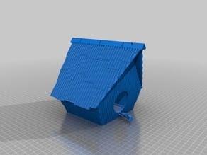 Ramshackle Birdhouse Assembled