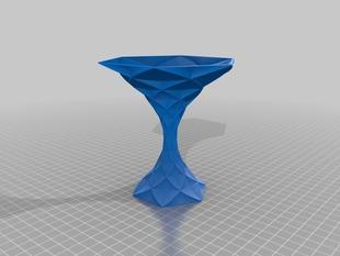 My Customized Polygon Vase - Hexagonal Martini glass
