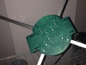 cuadcopter para tarrina de cd
