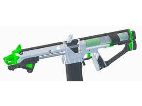 Nerf Caliburn - Rmax Barrel Shroud