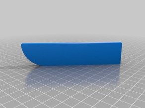 My Customized Parametric Kitchen Knife Sheath
